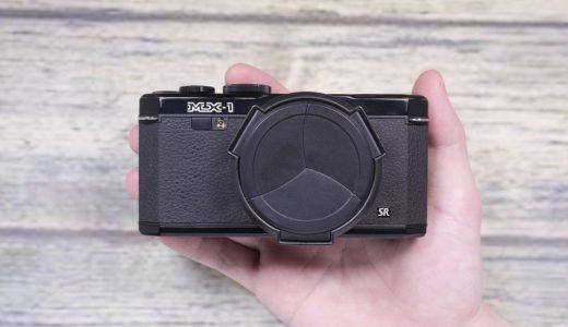 PENTAX MX-1 Classic Black レトロデザインのコンデジを使ってみる