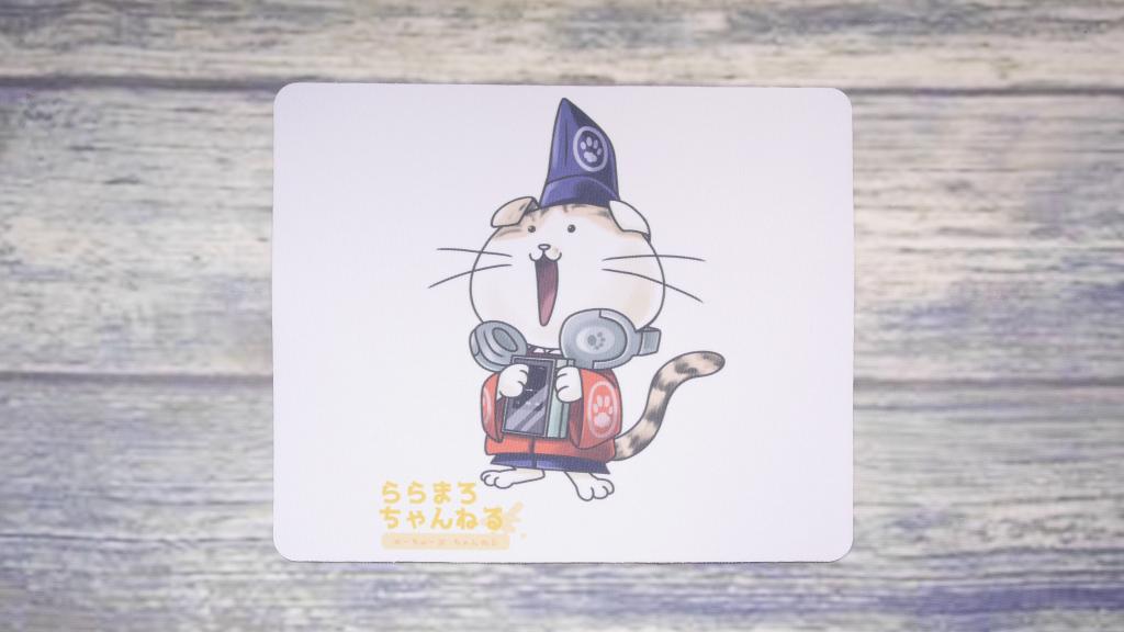 ららまろ ちゃんねるさん 特製マウスパッド