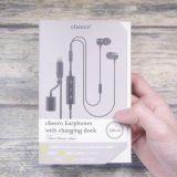 【レビュー】cheero Earphones with charging dockを試す