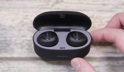 【レビュー】cheero Wireless Earphones CHE-615-BKを試す