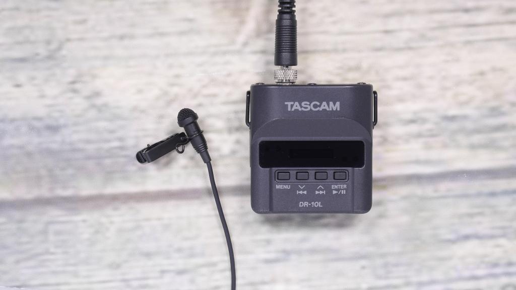 【レビュー】TASCAM  DR-10Lを試す