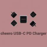 超高速充電対応の小型ACアダプター『cheero USB-C PD Charger (CHE-324)』を試す
