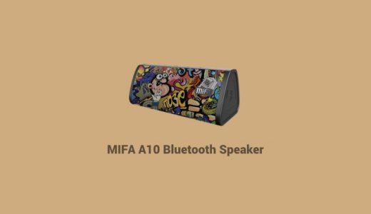 Micro SDカードから直接再生可能で同じ柄が存在しないBluetoothスピーカー『MIFA A10』を試す