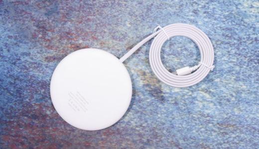 【レビュー】2018 Mid 仕様 Apple 7.5W 対応『マイクロソリューション Qi ワイヤレス充電パッド info LED』を試す