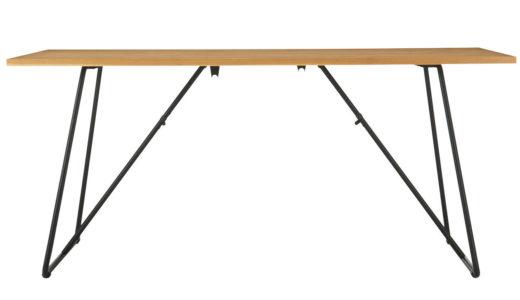 無印良品 オーク材 折りたたみテーブル 幅160cm を買いました。