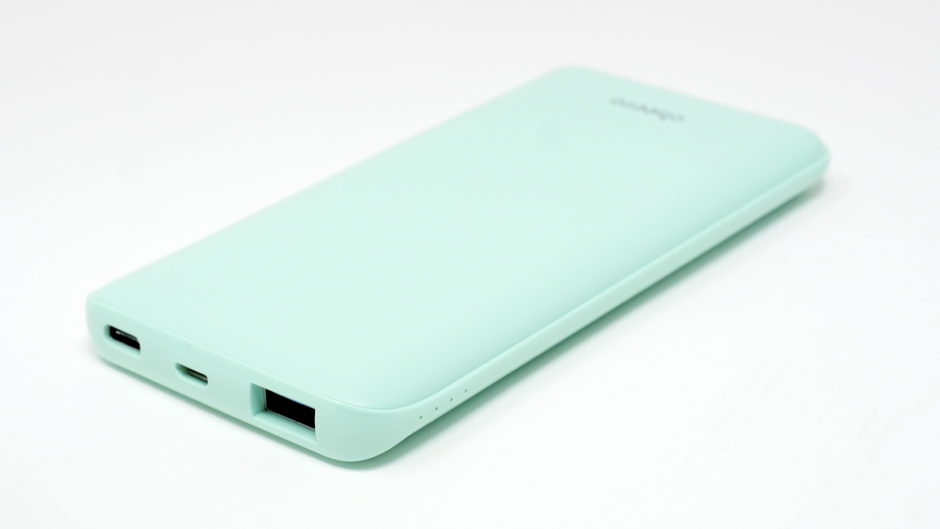 cheero Flat 10000mAh with Power Delivery 18W 大容量 モバイルバッテリー