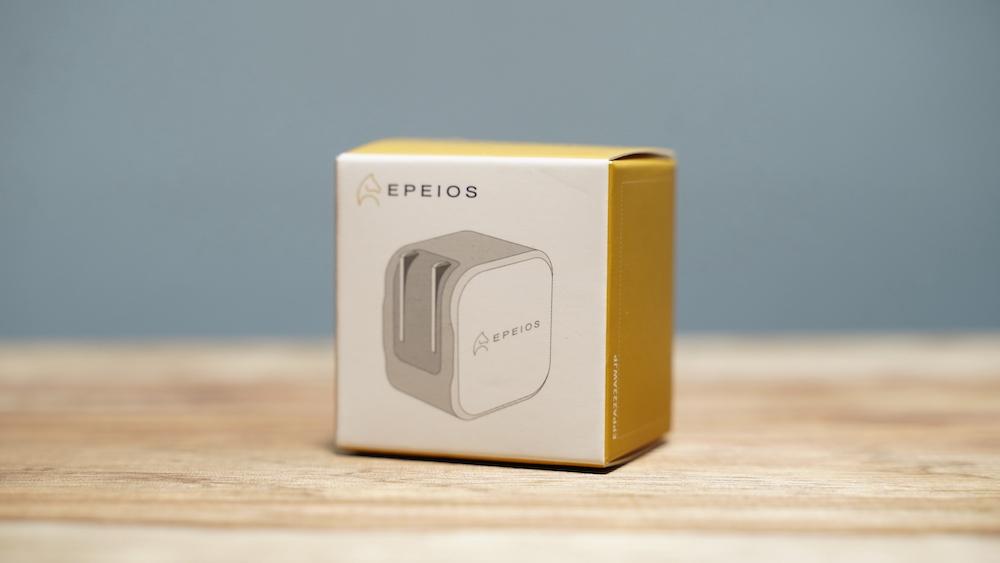 Epeios PD充電器 20W Type-C 急速充電器 2ポート 外箱